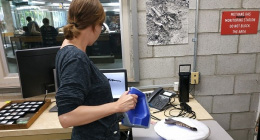 3D scanning at La Brea Tar Pits with Artec Space Spider